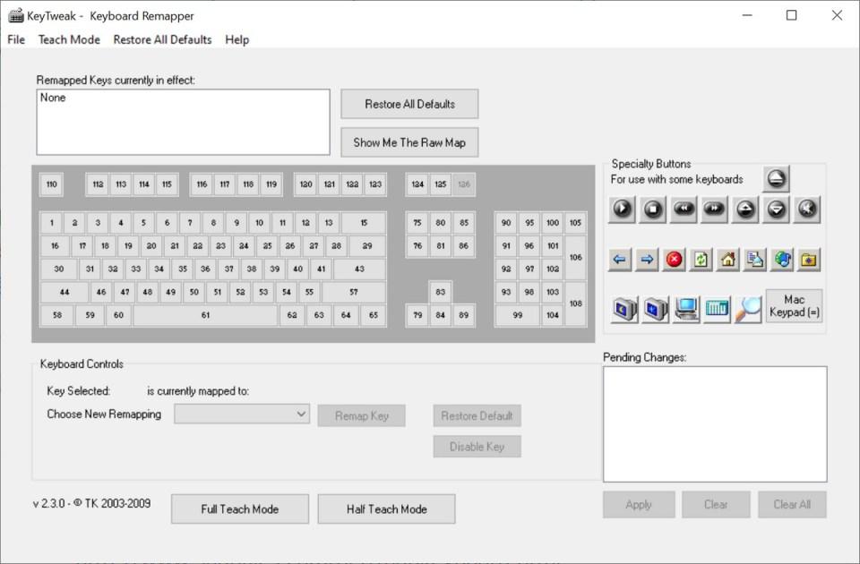 Как переназначить или переназначить клавиши на клавиатуре