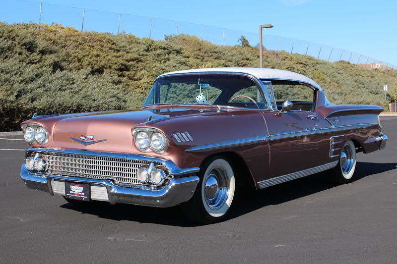Chevrolet   Vehicles   Specialty Sales Classics     1958 Chevrolet Bel Air Impala 2 Door Sport Coupe for sale