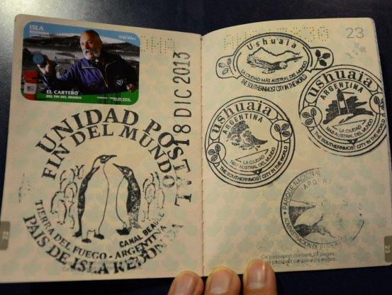 10 carimbos legais para o seu passaporte stamp cool ushuaia