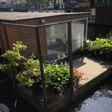 deck casa barco amsterdam