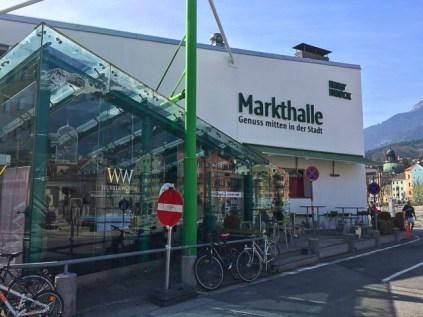 Markthalle em Innsbruck