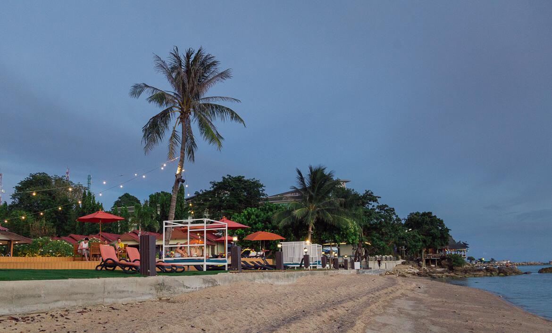 Entardecer em Koh Phangan | Viajando na Janela