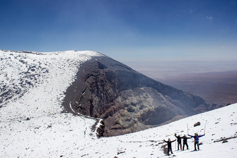 Roteiro no Deserto do Atacama - vulcão Lascar