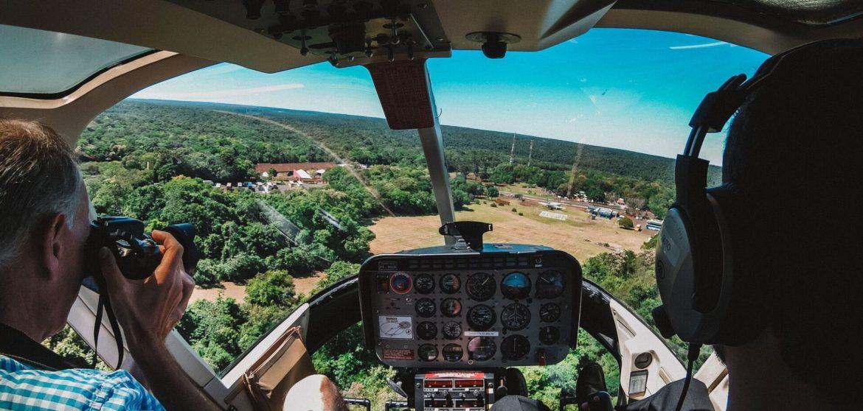 Levantando voo | Passeio de helicóptero em Foz do Iguaçu