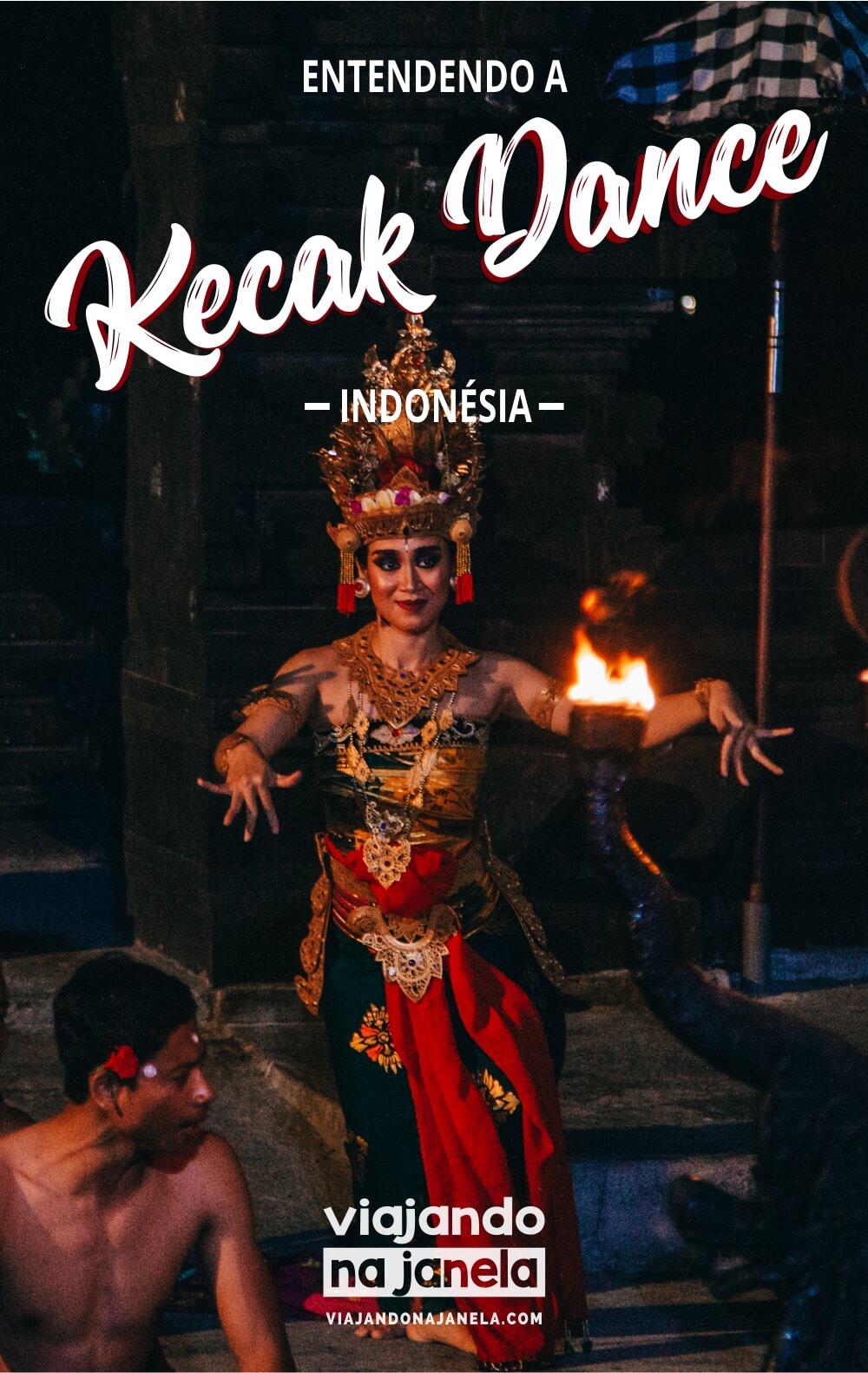 Kecak Dance, Uluwatu, Bali, Indonésia - pin