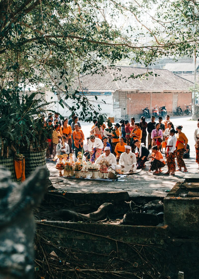 Cerimônia Hindu - Ilha de Bali