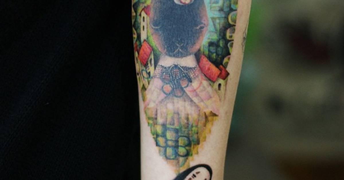 Tatuajes De El Viaje De Chihiro