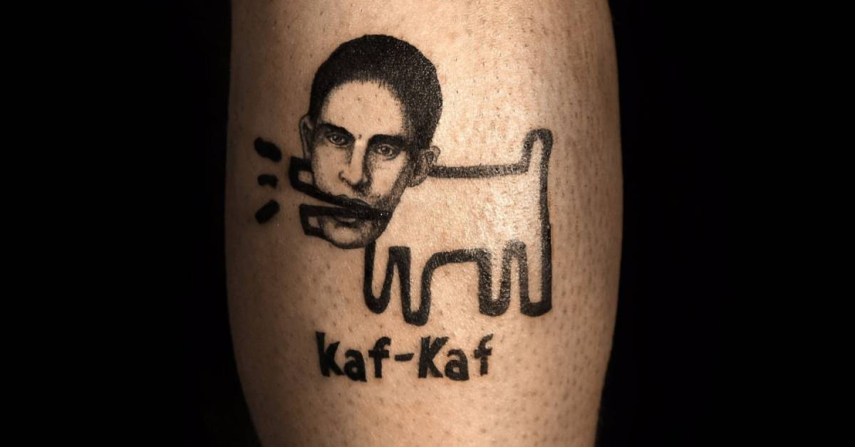 Keith Haring's Dog With The Head Of Writer Franz Kafka
