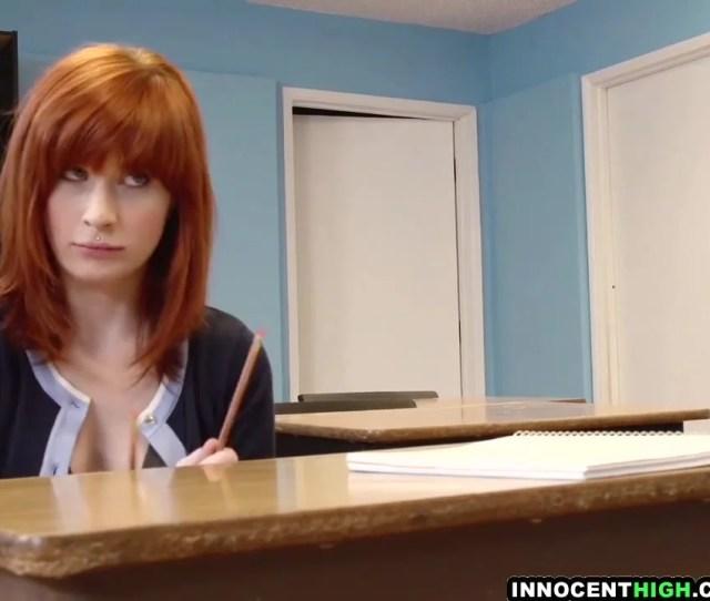 Innocenthigh Redhead Coed Sadie Kennedy Deepthroas Bigcock