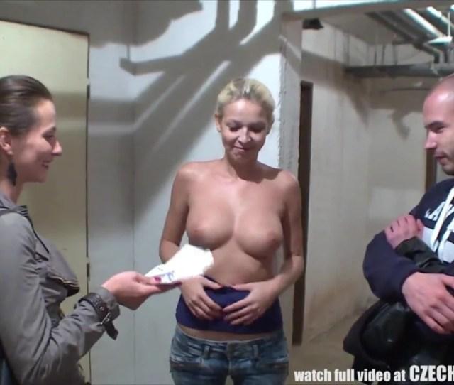 Handsome Czech Pair Gets Money For Girlfriend Swap