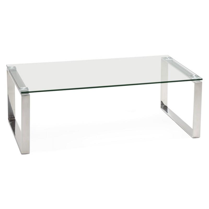 couchtisch rechteckig glasdesign betty transparent niedrige tische