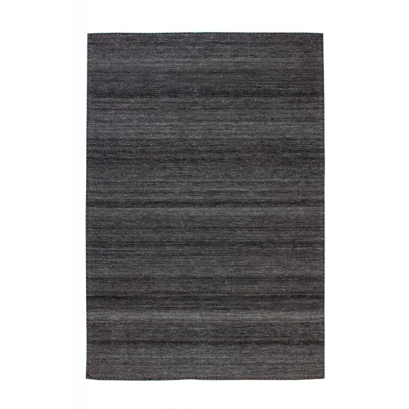 tapis design et contemporain atlanta rectangulaire tisse a la machine gris anthracite tapis design et contemporain