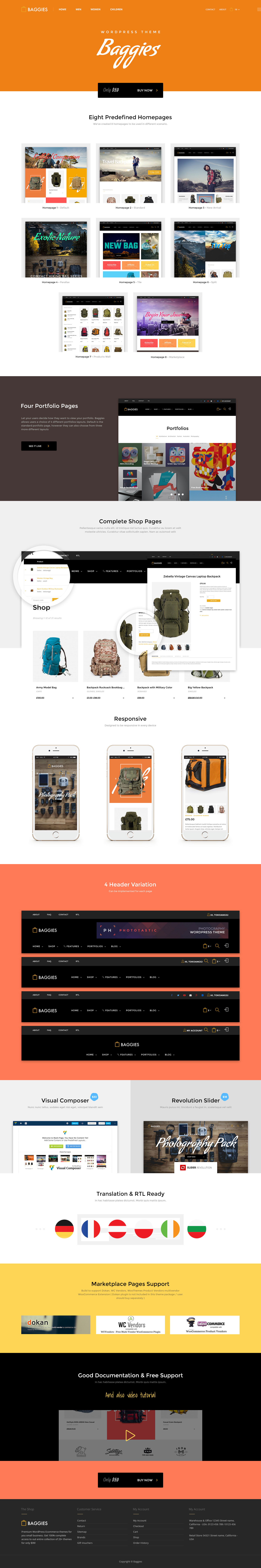 Baggies - WooCommerce Marketplace Themes - 5