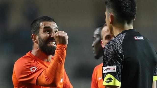 Image result for arda turan gets 16 matches ban