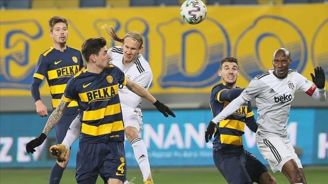 Besiktas beat Ankaragucu 1-0, Vida brings win