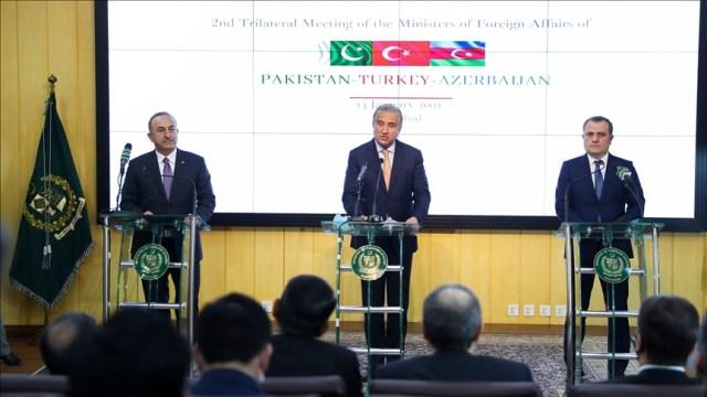 Turkey, Azerbaijan, Pakistan issue joint declaration