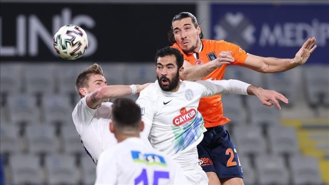 Basaksehir held to 1-1 draw with Caykur Rizespor