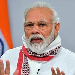 India's Prime Minister Narendra Modi said Thursday that India has supported more than 150 nations while facing all odds to fight the pandemic