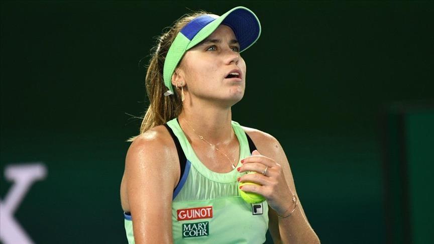 Tennis: Sofia Kenin knocked out of Australian Open