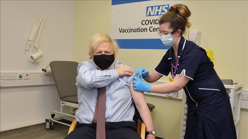COVID-19: Over 1 in 2 UK adults vaccinated with 1st jab
