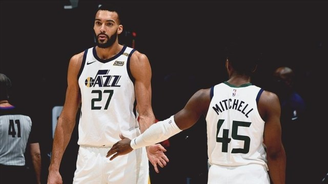 Jazz seal top spot in NBA for 1st time in franchise history