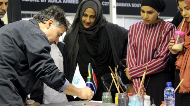Traditional Turkish handicrafts draw attention in South Africa