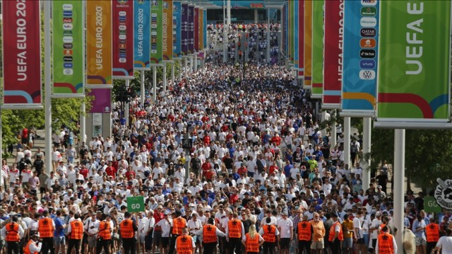 Over 60,000 fans allowed at Wembley for EURO 2020 semifinals, final
