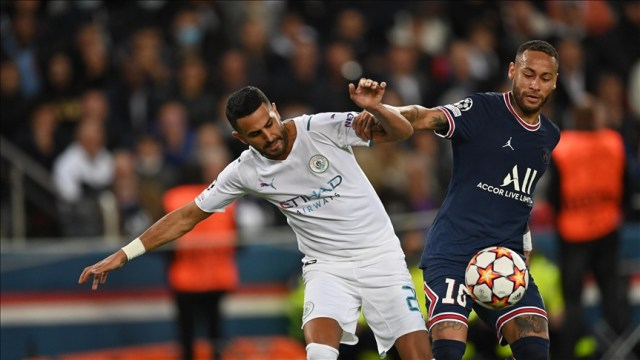 PSG secure 2-0 victory over Manchester City in Paris