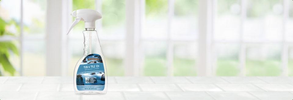 tub tile mixing spray bottle melaleuca