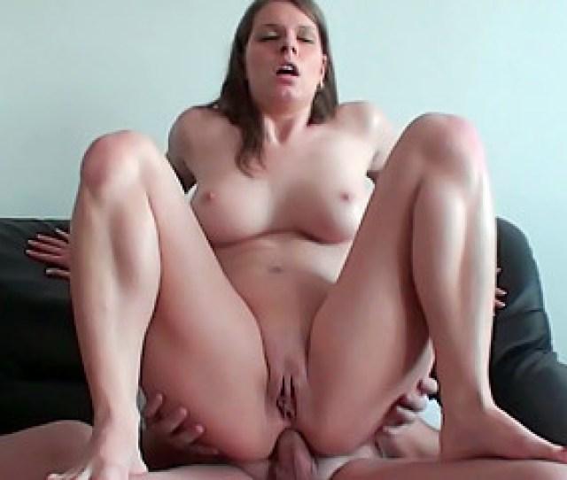 Busty Brunette Teen Slut