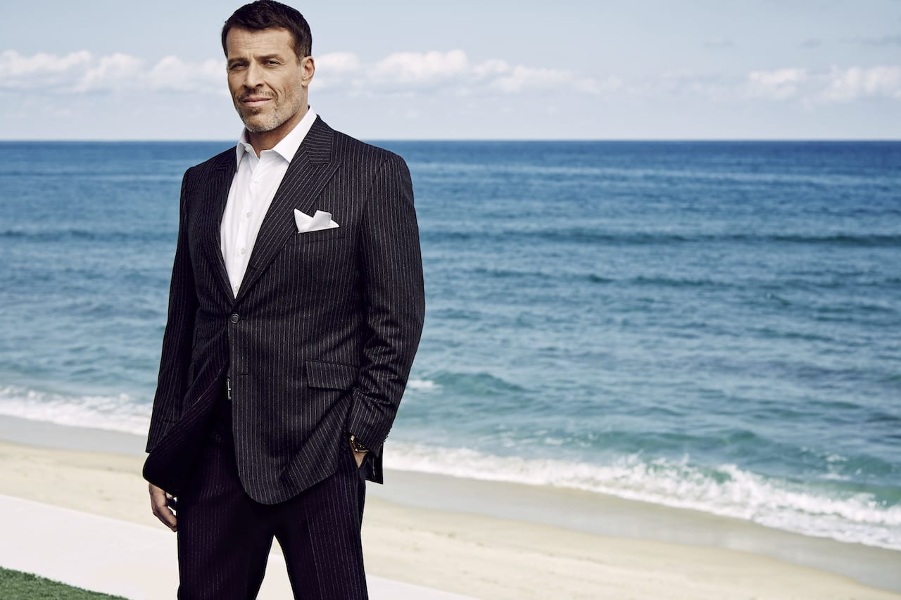 Success Magazine Tony Robbins 5 Steps To Your Best Year