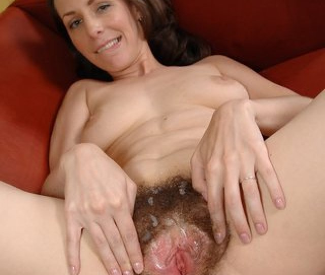 Hairy Wide Open Pussy