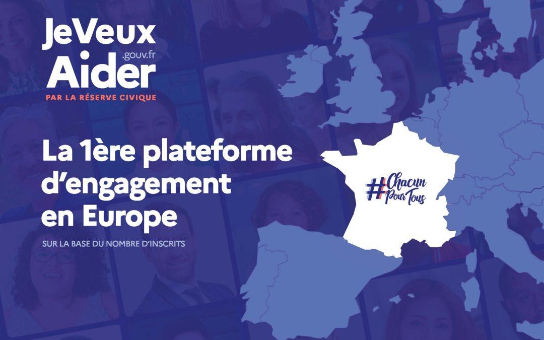 JeVeuxAider.gouv.fr : la plateforme publique du bénévolat