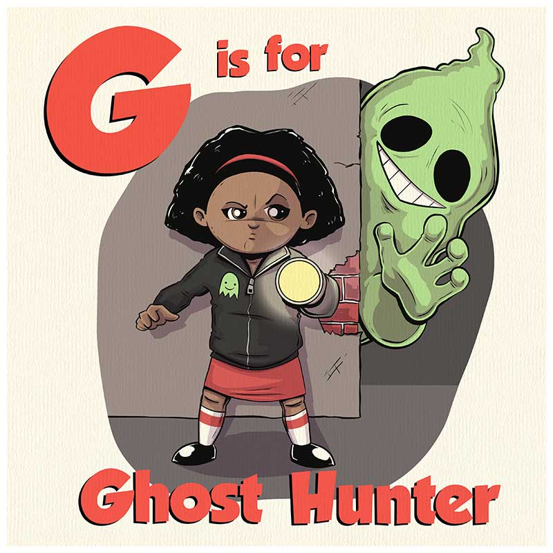 G is for Ghost Hunter