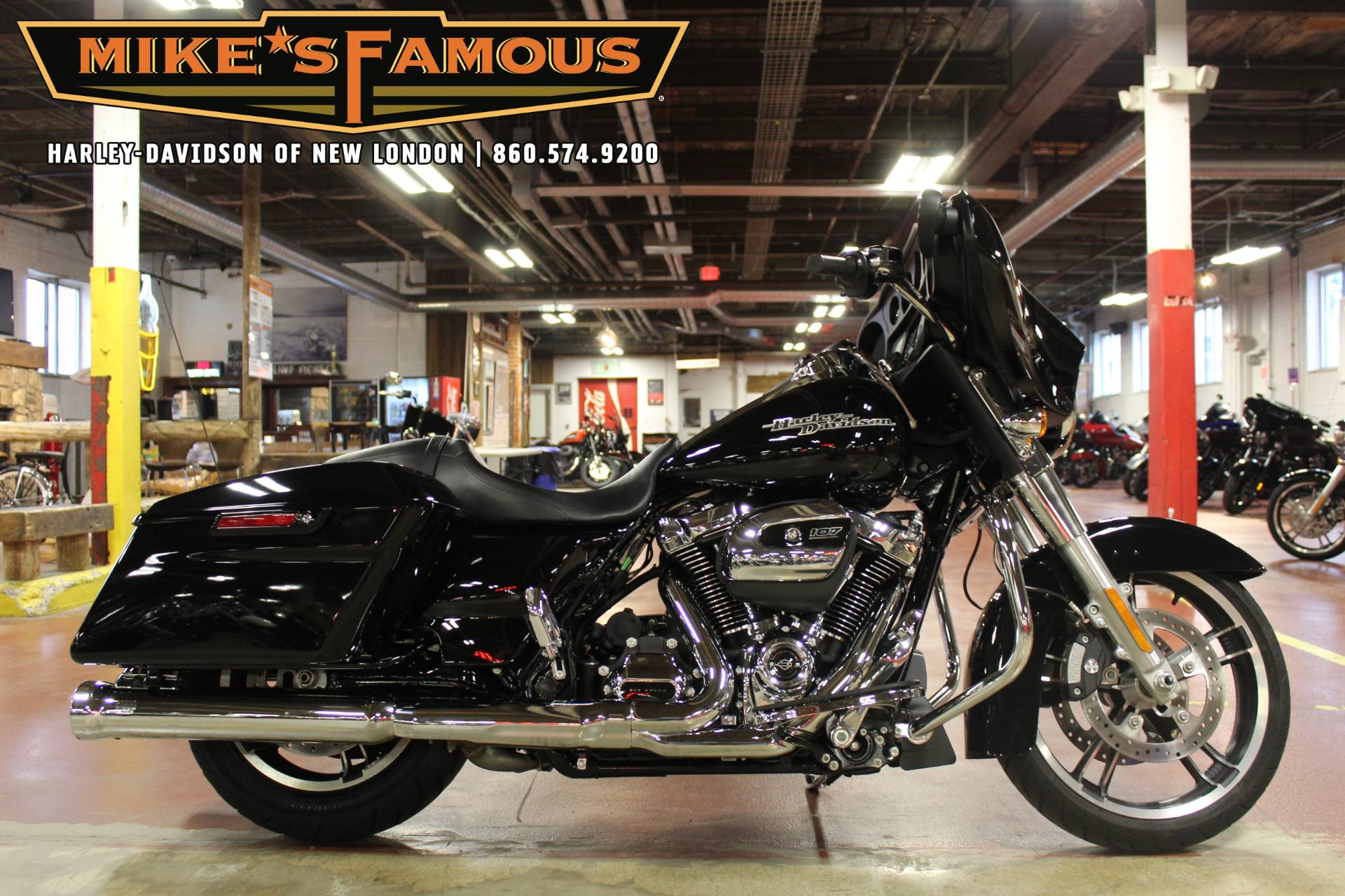 mike s famous harley davidson