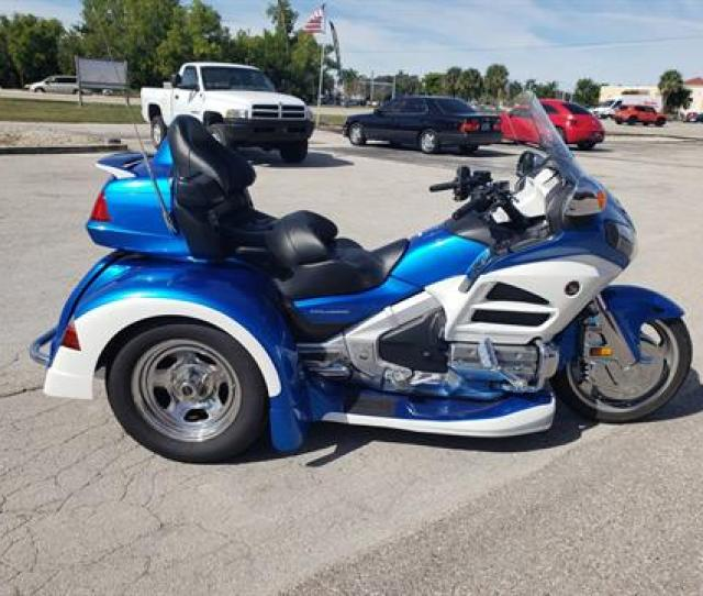 2012 Honda Goldwing In Fort Myers Florida