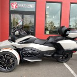 New 2020 Can Am Spyder Rt Limited Motorcycles In Portland Or N A Chalk Metallic Dark Edition