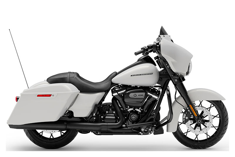 new 2020 harley davidson street glide special stone washed white pearl motorcycles in plainfield in