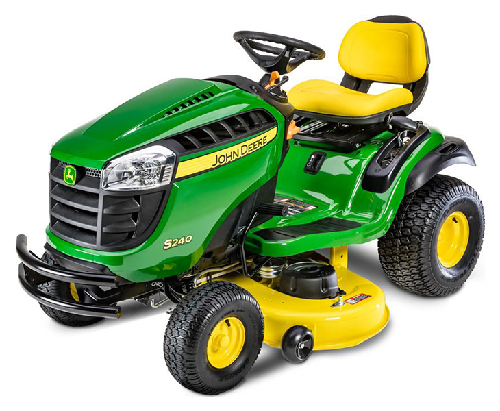 New 2020 John Deere S240 48 In 18 5 Hp Lawn Mowers Riding In Terre Haute In