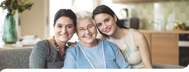 Family that found in-home care for mom