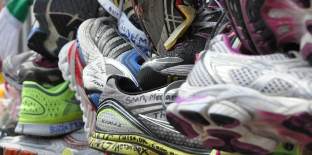 Runners left shoes to honor the Marathon victims in this photo by Boston Magazine. As soon as the extent of the injuries was published, many in the buiding industry knew that architectural modifications would be necessary. The CDRC is honored to be working behind the scenes to assist and enable the design effort.
