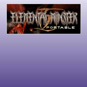 The cover art of the game Elemental Monster TD Portable.