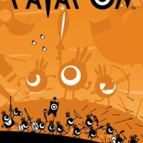 The cover art of the game Patapon.