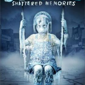 The cover art of the game Silent Hill: Shattered Memories.