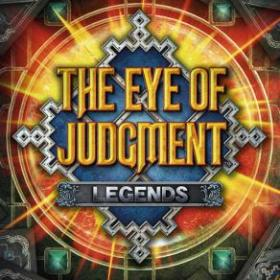 The cover art of the game The Eye of Judgment: Legends.