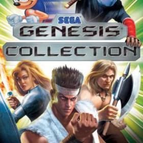 The cover art of the game Sega Genesis Collection.