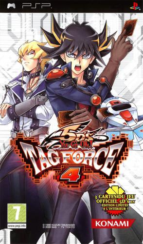 The coverart image of Yu-Gi-Oh! 5D's Tag Force 4