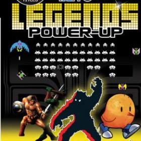 The cover art of the game Taito Legends: Power-Up.