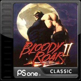 The cover art of the game Bloody Roar II.