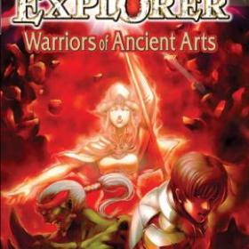 The cover art of the game Dungeon Explorer: Warriors of Ancient Arts.